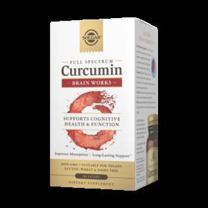Full Spectrum Curcumin Brain Works Licaps™