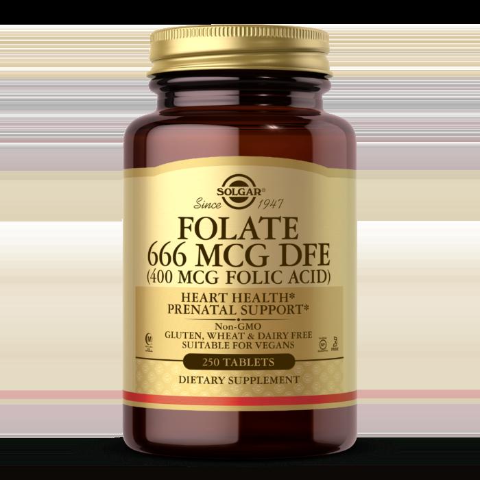 Folate 666 MCG DFE (FOLIC ACID 400 MCG) Tablets
