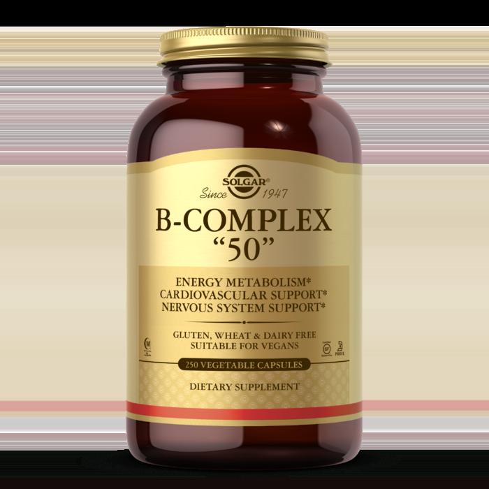 """B-Complex """"50"""" Vegetable Capsules"""