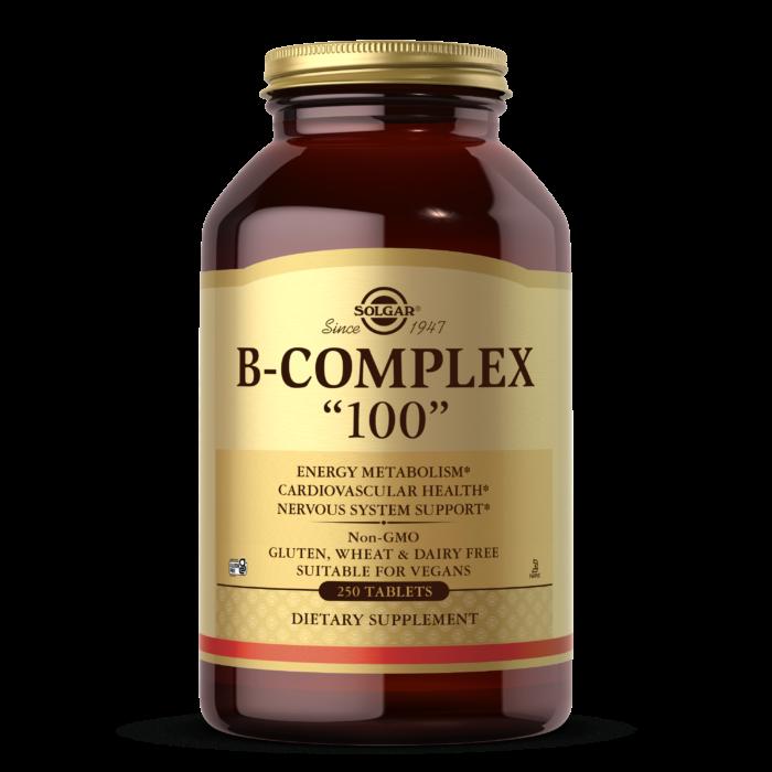 """B-Complex """"100"""" Vegetable Capsules"""