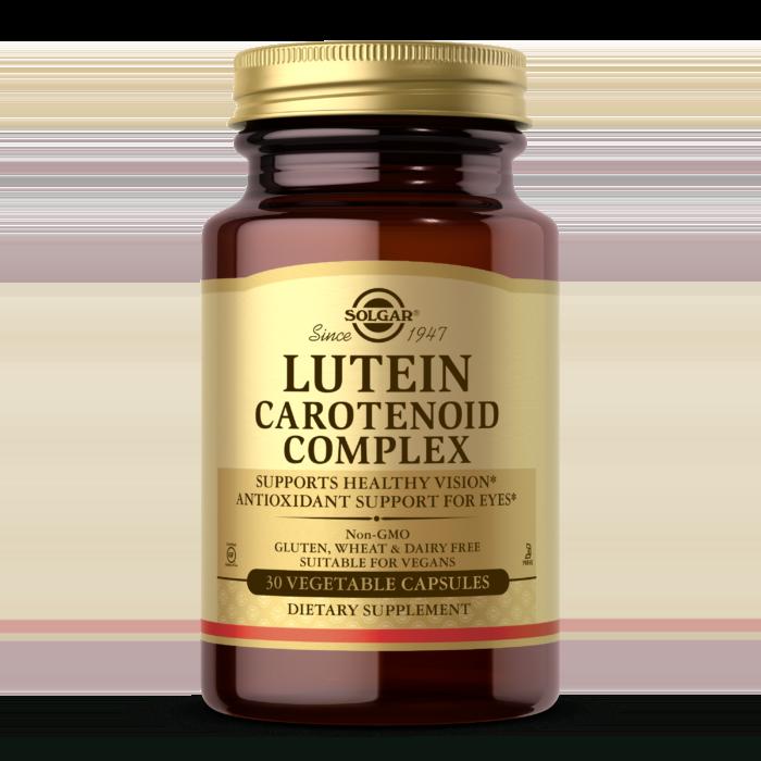 Lutein Carotenoid Complex Vegetable Capsules
