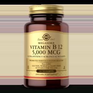 Vitamin B12 5000 mcg Nuggets