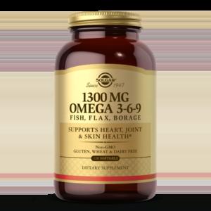 1300 mg Omega 3-6-9 Softgels