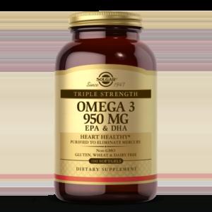 Triple Strength Omega-3 950 mg Softgels