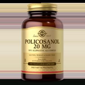 Policosanol 20 mg Vegetable Capsules