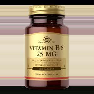 Vitamin B6 25 mg Tablets