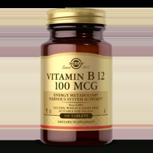 Vitamin B12 100 mcg Tablets