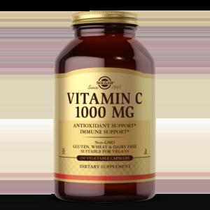 Vitamin C 1000 mg Vegetable Capsules