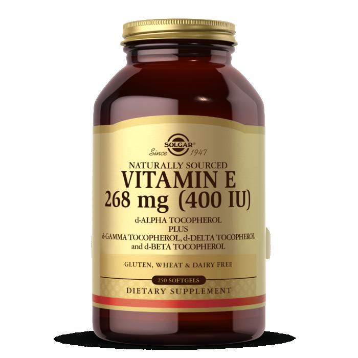 Vitamin E 268 MG (400 IU) Mixed Softgels (d-Alpha Tocopherol & Mixed Tocopherols)