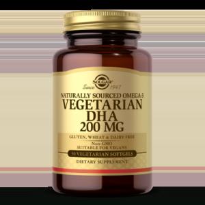 Omega-3 Vegetarian DHA 200 mg Vegetarian Softgels