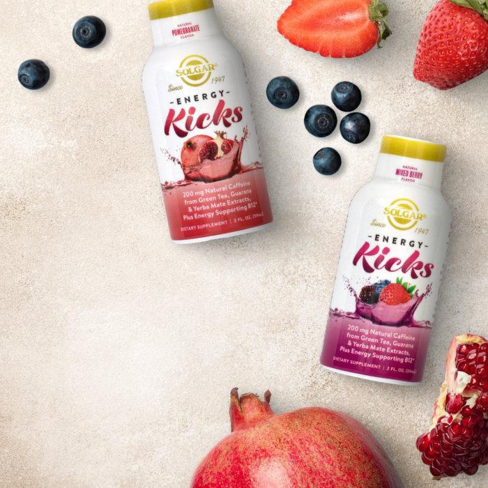Energy Kicks – Natural Mixed Berry Flavor